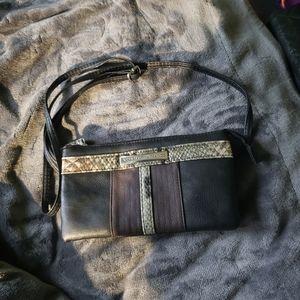 Anna Martina Franco Small Brown Shoulder Bag